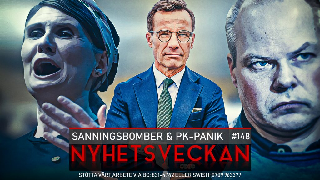 Nyhetsveckan 148 – Sanningsbomber & PK-panik, uppgivna poliser
