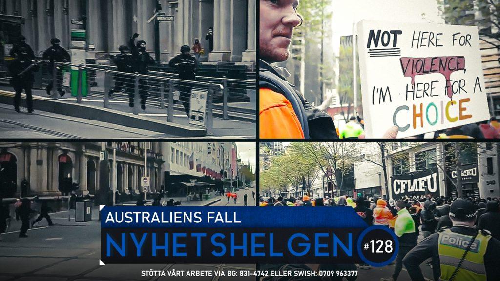 Nyhetshelgen 128 – Australiens fall, demografikatastrof, dumstrut