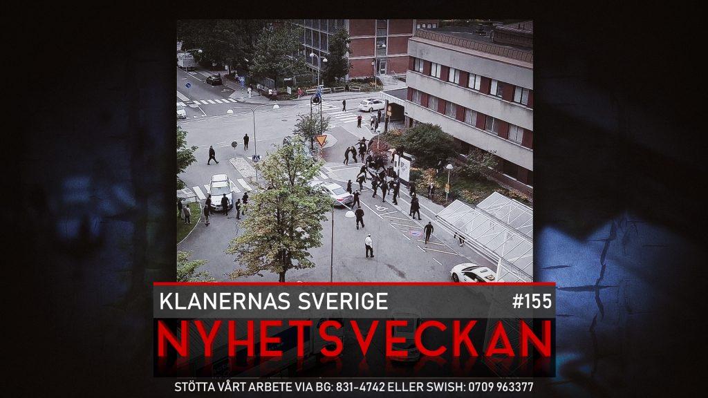 Nyhetsveckan 155 – Klanernas Sverige, råttorna lämnar, The Walking Dead